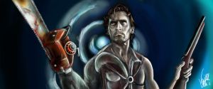 Ash Williams by Vinnyjohn13