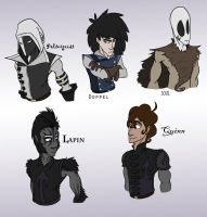 Main Characters by Assassin-or-Shadow