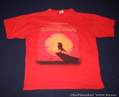 The Lion King - German T-shirt from Germany by dapumakat