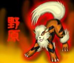 Nohara the Arcanine by GameNinja