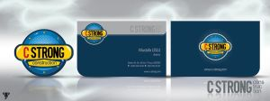 c-strong corporate identity by operadevil69