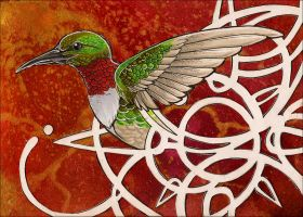 Song of the Caged Bird by awaicu