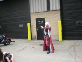 Female Dante shoots you. by SidneyVons