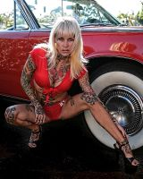 Michelle and the Continental by SkipM