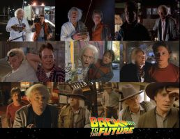 Back to the Future Doc and Marty Collage by ENT2PRI9SE
