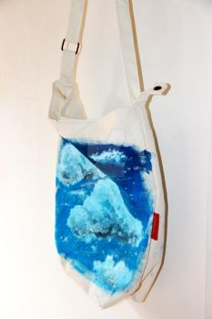 Starry Clouds Tote bag by mintybreeze