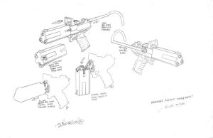 GI JOE Zartan's weapon by DanNortonArt