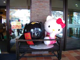 Hello Kitty and the magic Egg Hakone Japan by chaobreeder16
