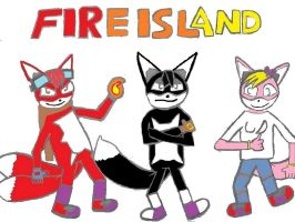 Fire Island TV Show Poster: Improved by RollerCoasterViper59