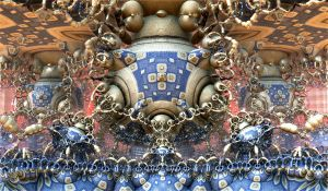 Bulbs with blue pattern by Andrea1981G
