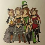 Ladies Steampunks Fashion! :D by Akumi123456788