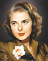 Ingrid Bergman by JALpix