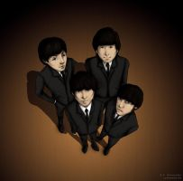 Fab Four by Cyberfish