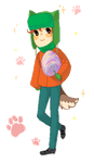 Pixelated Kyle by arisu666