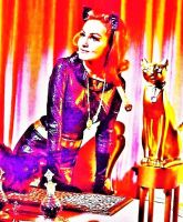 Psychedelic Sixties: Catwoman on 'Batman' by MystMoonstruck
