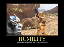 Humility Demotivator by Grimful