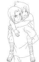 Itachi and Sasuke by Miya-chan1000
