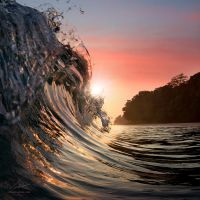 Surfing wave by Vitaly-Sokol