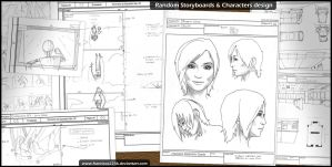 Random Storyboards by francisco2236