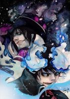 Ao no exorcist by DeyonSide
