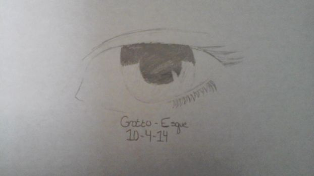 Drawing Practice: An Eye by Grotto-Esque