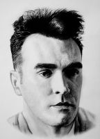 You should have been nice to me Morrissey Portrait by andresarte