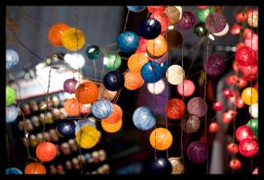 Night market by flemmens