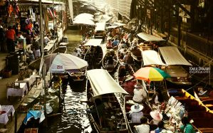 Floating Market by EmilieDurand