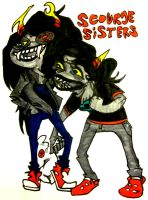 scourge sisters by awesome-pants