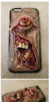 Iphone6 case commission done! by MorgansMutations