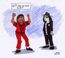 Michael vs Michael by RABBI-TOM