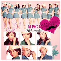 Pack PNG Girls Generation (SNSD) by GAJMEditions
