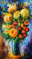 Surprise by Leonid Afremov by Leonidafremov