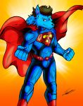 Like a Man of Steel by paladin095