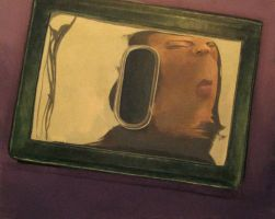 Distorted reflection by Kayla-Noel
