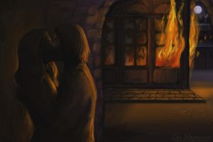 Fire in the Night by rawenna