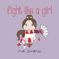Mai - Fight Like A Girl by isasaldanha