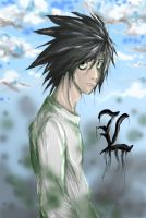 L from Death Note(revised) by vlewis123