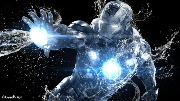 Iron Man with Water effects. by Okman179