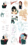 { Mostly Crack ll Sketch Dump 2 ll Ask Admin }} by Ask-Serca