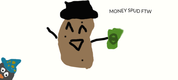 MONEYSPUD by shadowjess2000