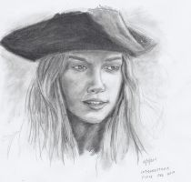 Elizabeth Swann by bearOnUnicycle