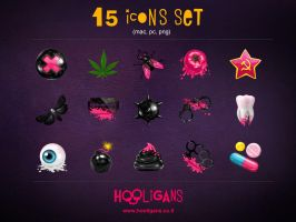 Hooligans Icons by Kluke