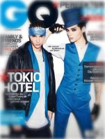 GQ Brothers Kaulitz by nejicanspin