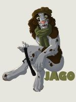Badge: Jago the Spaniel by SpiritCreations