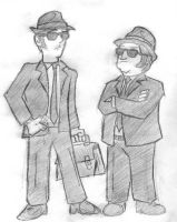 The Blues Brothers by HoratioGiovanni