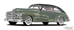 1947 Pontiac by CRWPitman