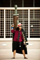 PMX 09: Strong World Luffy by JoLuffiroSauce