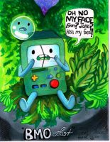 BMO Lost *Inspired by hidden-by-art