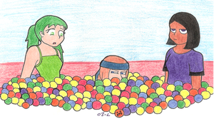 worst ballpit ever. by homicidalxfish